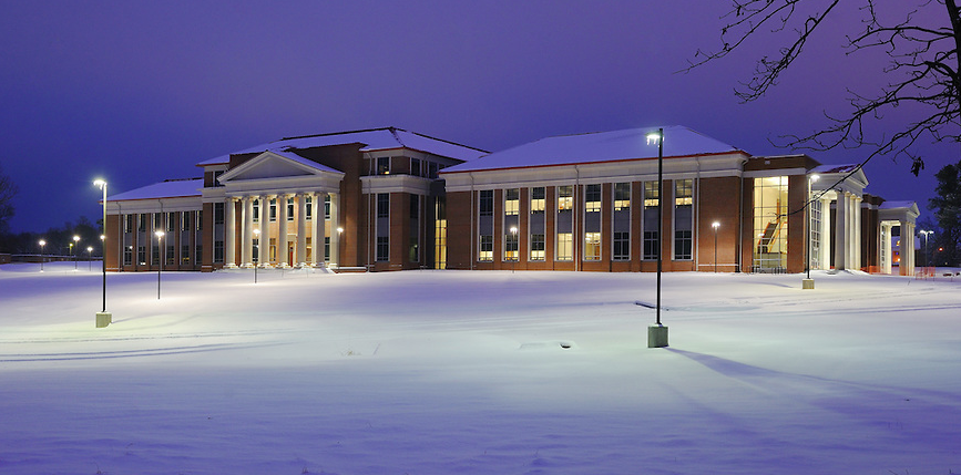 The University of Mississippi's School of Law is housed in the new Robert C. Khayat Law Center.