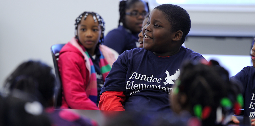 Dundee Elementary earned the Mississippi Department of Education's highest performance classification in 2012.