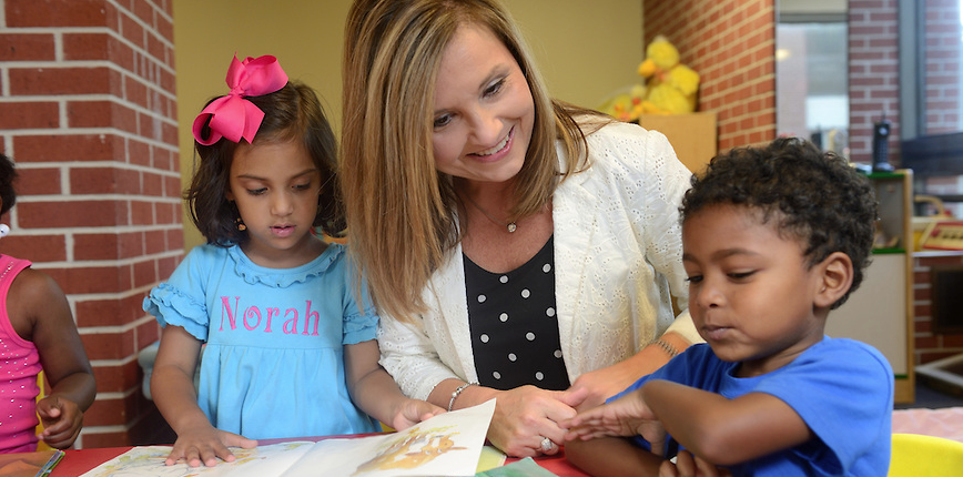 Dr. Angela Rutherford brings expertise in literacy instruction to her role as the director of the School of Education's Willie Price Lab School.