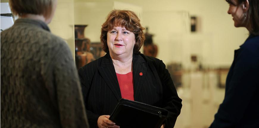 Alice Clark leads the university's STEM Education Initiatve.