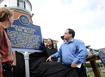 Scott Barretta and Blues Marker