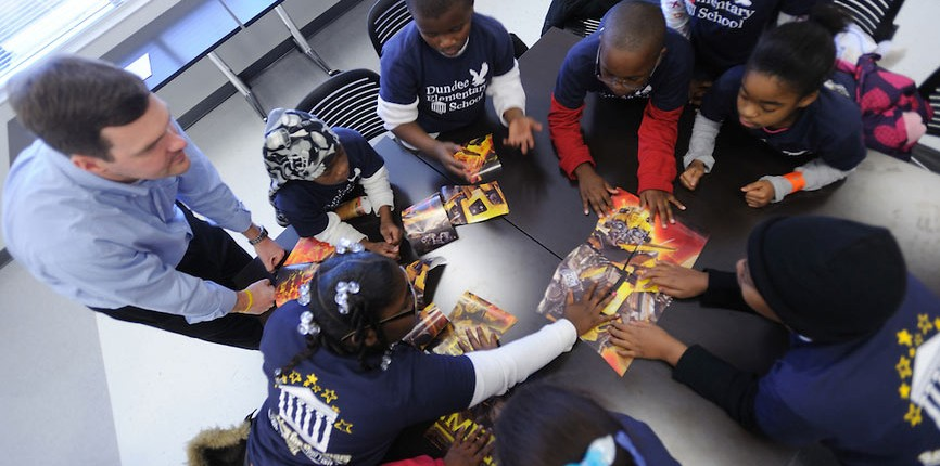 Improving literacy instruction is a central concern of the university's Center for Excellence in Literacy Instruction.